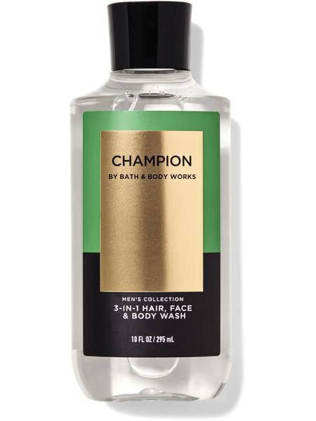 Шампунь для волосся і гель для душу 2в1 Bath and Body Works 2-in-1 Hair & Body Wash Champion