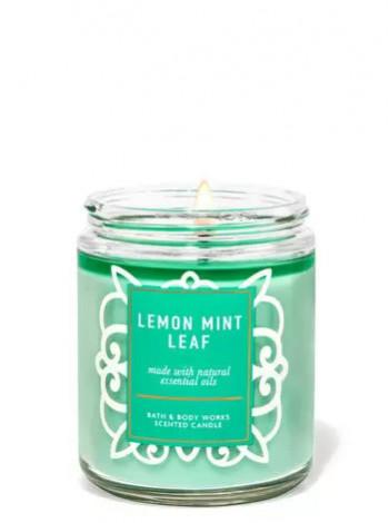 Ароматизована свічка Lemon Mint Leaf Bath & Body Works