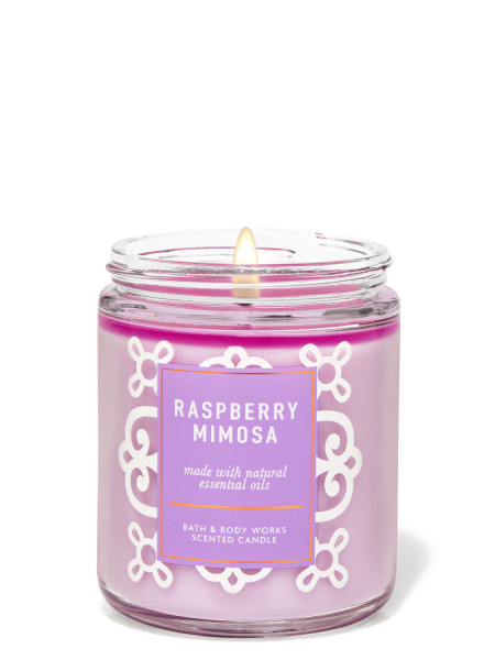 Ароматизированная свеча Raspberry Mimosa Bath & Body Works