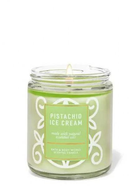 Ароматизированная свеча Pistachio Ice Cream Bath & Body Works