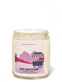 Ароматизированная свеча Berry Waffle Cone Bath & Body Works