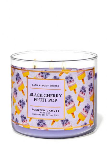 Свеча Black Cherry Fruit Pop От Bath And Body Works