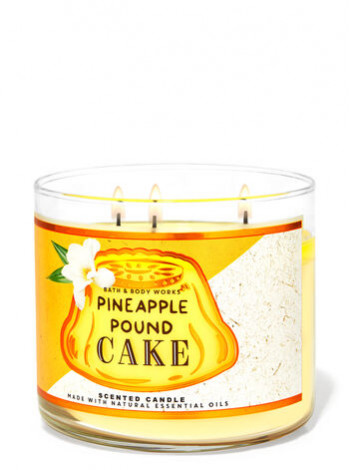 Свічка Pineapple Pound Cake Від Bath And Body Works