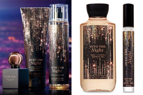Серия средств Into The Night Bath & Body Works